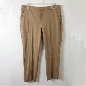 Banana Republic Camel Brown Cropped Avery Pants 12